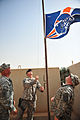 Broncos Flag Raised at Camp Ramadi, Iraq DVIDS201144.jpg