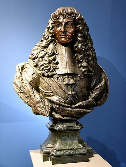 Bronze bust of Louis XIV. Circa 1660, by an unknown artist. From Paris, France. The Victoria and Albert Museum, London. Bronze bust of Louis XIV. Circa 1660 CE, by unknown artist. From Paris, France. The Victoria and Albert Museum, London.jpg