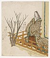 Brooklyn Museum - A Court Lady Viewing Cherry Blossoms - Yashima Gakutei.jpg