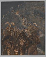 Le cortège de Judas
