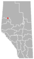Brownvale, Alberta Location.png