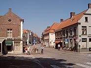 Brugge, straatzicht Katelijnestraat 2007-08-05 12.26