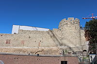 Brussels Wall and Tower 1st Fortification Wall Villers Alexiens 2013-08 --1.JPG