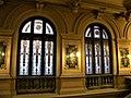 Bucuresti, Romania. MUZEUL NATIONAL COTROCENI. (Holul de la intrare)(Vitralii); (B-II-a-A-19152).jpg