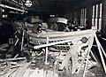 Building a 26-foot whaleboat, Shipwright Shop, Brooklyn Navy Yard, New York, circa 1941 (26428347135).jpg
