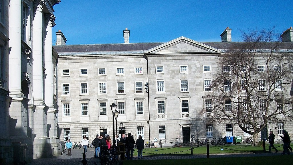 Buildings in the northwestern section of Parliament Square, TCD - geograph.org.uk - 1741976.jpg
