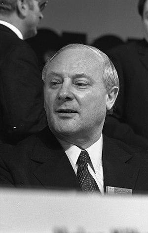 Georg Leber - Leber in 1973
