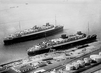 Hapag-Lloyd - Flagships of North German Lloyd - Bremen and Europa