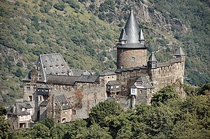 Toll castle - The toll castle of Stahleck in Bacharach