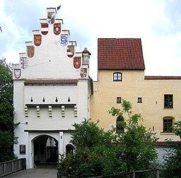 Burg Gruenwald Eingangstor