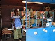 Shop in Burkina Faso.