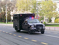 Bush's motorcade in Zagreb (3).jpg