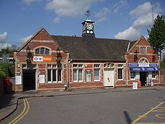 Bushey station east building.JPG