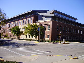 Gies College of Business - The Business Instructional Facility during the Fall of 2008.