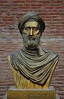 Bust of Ibn Khaldun (Casbah of Bejaia, Algeria).jpg