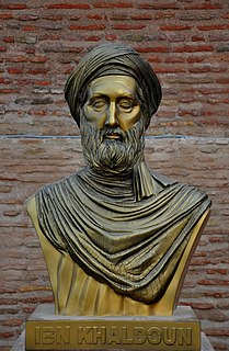 Ibn Khaldun 14th-century Arab historiographer and historian