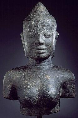 Bust of the Buddhist Goddess Prajnaparamita LACMA AC1997.266.1 (2 of 2).jpg
