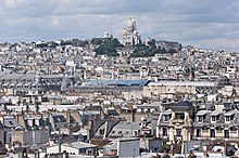 Butte Montmartre from centre Pompidou.jpg