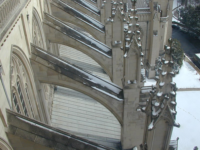 Buttresses The Washington National Cathedral.jpg