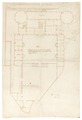 Byggnadsritning Wrangelska palatset, 1655-1656 - Skoklosters slott - 99007.tif