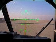 C-130J Co Pilot's Head-up display