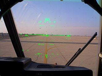 Mixed reality - Image: C 130J Co Pilot's Head up display