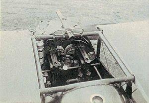 Sopwith Dolphin - Dolphin cockpit