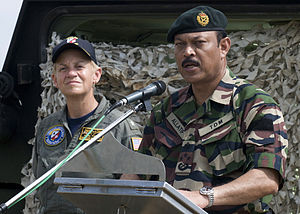 Joint Forces Command, Malaysia - Major General Dato' Allatif Mohd Noor, the first Commander in Chief, Joint Forces Command.