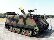 CM-23 Mortar Carrier in ROCA Infantry School 20120211a