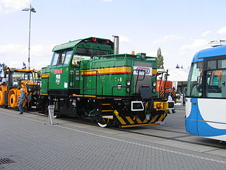 InnoTrans - CMKS 709.702 shunter at InnoTrans 2006