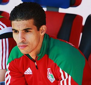 Mbark Boussoufa - Boussoufa with Lokomotiv Moscow in 2014