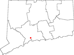 Lokasi di New Haven County, Connecticut