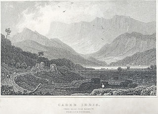 Cader Idris, three miles from Barmouth, Merionethshire