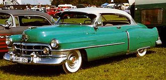 Cadillac de Ville series - 1950 Cadillac Series 62 Coupe de Ville