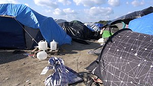 "Calais Jungle - Conditions at the ""Jungle"" camp in October 2015"
