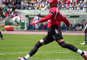 Miguel Calero - Calero while playing for Pachuca in 2006.