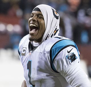 Cam Newton American football quarterback