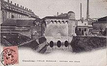 La tour des Arquets au début du XXesiècle)