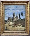 Camille corot, la cattedrale di chartres, 1830 poi 1872.jpg