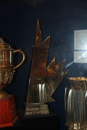 Canada Cup - Canada Cup in the Hockey Hall of Fame