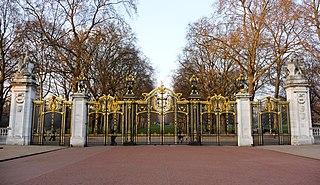 part of the Queen Victoria Memorial scheme in London