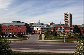 Canadian Blood Services - The Canadian Blood Services head office building in Ottawa, Ontario