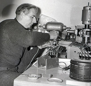 Hugh Le Caine Canadian composer and physicist