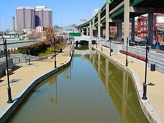 James River and Kanawha Canal - Canal Walk