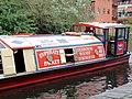 Canal trip boat near Gas Street Basin, Birmingham - geograph.org.uk - 1734290.jpg