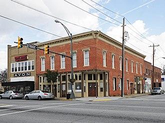 Cannon Building (Fountain Inn, South Carolina) - Cannon Building