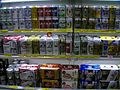 Cans of beer on Japanese discount store.jpg