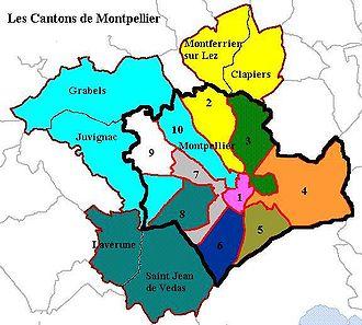 Carte Montpellier Ville Verte