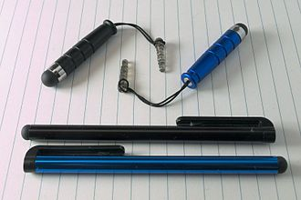 Capacitive sensing - Capacitive stylus
