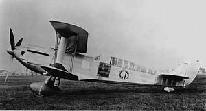 Caproni Ca.165 - Caproni Ca.165 in its initial form, c. 1938